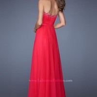 2014 La Femme Ruched Bodice Prom Dress 19911