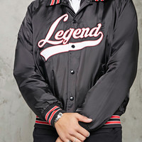 Collared Legend Bomber Jacket