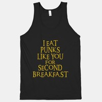 I Eat Punks Like You for Second Breakfast (Tank)