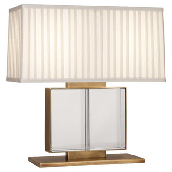Sloan Collection Wide Table Lamp design by Robert Abbey