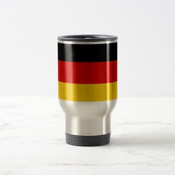 Travel Mug with Flag of Germany
