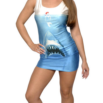 Mermaid Shark Dress Size Medium