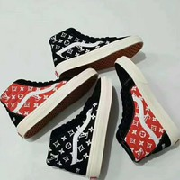 Vans x Supreme x LV Flats Sneakers Sport Shoes I-CSXY One-nice™