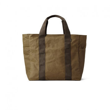 Filson Large Grab 'N' Go Tote Dark Brown