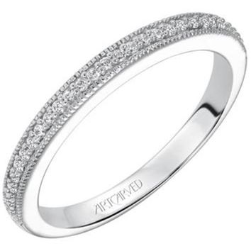 "Artcarved ""Lizbeth"" Diamond Wedding Band"