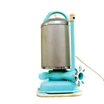 Turquoise Blue Jacuzzi Portable Spa 1950s Vintage Whirlpool J300-B Hydrotherapy Bath Pump