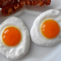 Fried Egg Soaps - Set of 2 - Breakfast Is Served