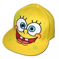 ROCKWORLDEAST - SpongeBob SquarePants, Hat, Face