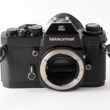 Nikon Nikkormat EL Black Camera Body