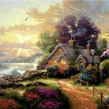Art Oil Painting Digital Picture DIY No Frame