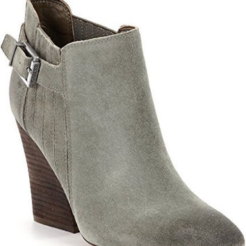 GUESS WOMENS NICOLO BOOT, OLIVE, 7 M US