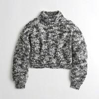 Girls Chunky Turtleneck Sweater | Girls Clearance | HollisterCo.com