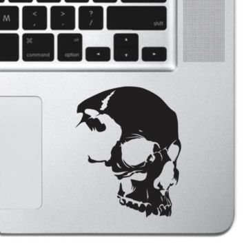 Skull Vinyl MacBook Pro Air Keyboard Sticker Vinyl Decal Laptop iPad Tattoo Skin