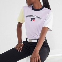 Russell Athletic Alexandra Colorblock Tee | Urban Outfitters