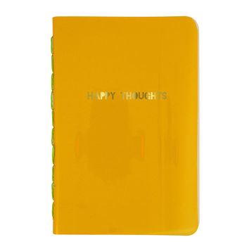 Happy Thoughts Orange Notebook