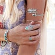 Fashion Wedding Jewelry Retro Designs Nation Bohemian Style Turquoise Ring = 1928471876