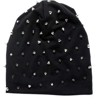 """Women's """"Rocker Studded"""" Knit Beanie (More Colors Available)"""