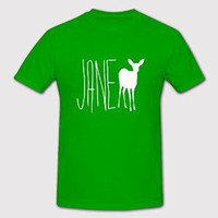 Jane Doe Shirt/ T-shirt Green