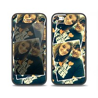 The Add Your Own Image Skin Set for the iPhone 5-5s Skech Glow Case