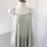 KALINE RIBBED CAMI- MINT