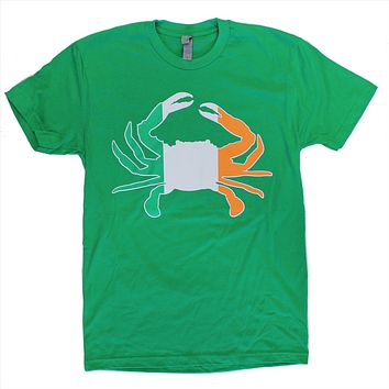 Irish Crab (Green) / Shirt