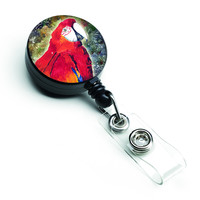 Parrot  Parrot Head Retractable Badge Reel 8603BR