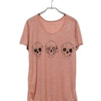 T-shirt - Skulls - T-shirts & Tanks - Women - Modekungen | Clothing, Shoes and Accessories