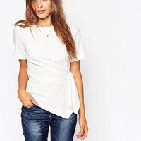 ASOS | ASOS Origami T-Shirt In Crepe at ASOS