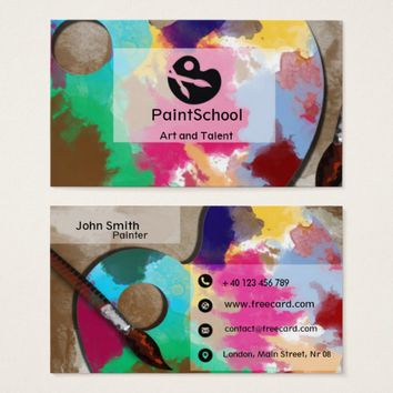 Fine Art Business Card