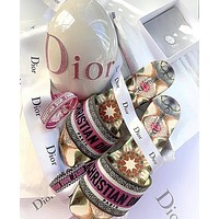 Dior Alphabet slippers