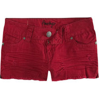 AMETHYST JEANS Raw Edge Womens Denim Shorts 196994302 | Shorts | Tillys.com