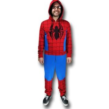 Spiderman Costume Union Suit