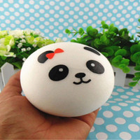 1pc Panda Squishy Kawaii Buns Bread Charms for Key Bag Cell Phone Straps Hot APE