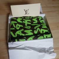 Louis Vuitton Graffiti Pareo Scarf 1000000% Authentic