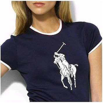 NEW POLO RALPH LAUREN SHIRT WOMEN SHORT SLEEVE T-SHIRT SIZE: S-XL-4