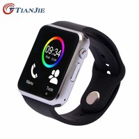 Smartwatch A1 Smart Watch With Camera Bluetooth Pedometer Sleep Tracker Mp3 Answer Call Smart
