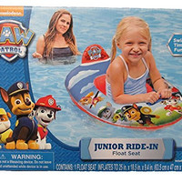 Paw Patrol Junior Ride-In Inflatable Float Seat, 25 x 18 x 9.4 in by Nickelodeon