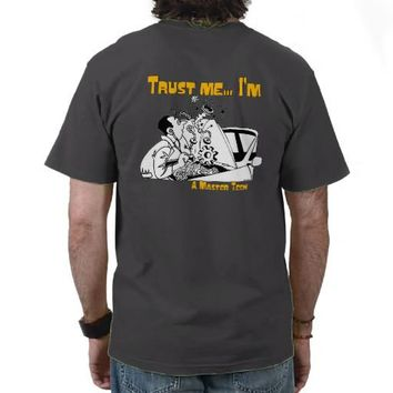 Trust Me Master Tech Auto Mechanic Shirts from
