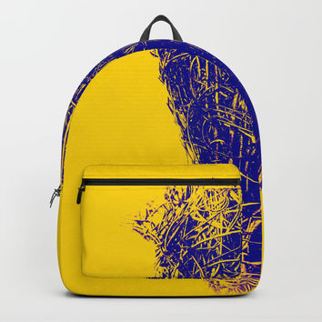Oh Dear - GOLD Backpack by David Darcy