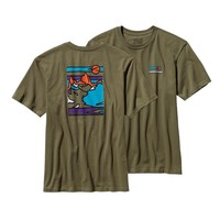 Patagonia Men's Glacier Waves Cotton T-Shirt