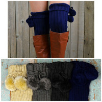 Rolling Woods Ribbed Bootsock Leg Warmers
