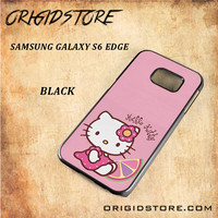 Hello Kitty Pink Lemon For Samsung Galaxy S6 Edge - Gift Present Multiple Choice