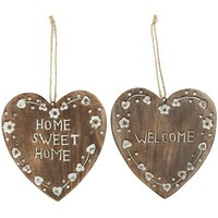 Home Hearts Wall Decor Set