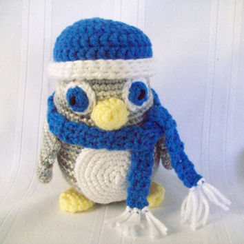 Penguin // Crochet Penguin // Crochet Toy Penguin // Penguin Stuffed Toy