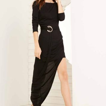 STYLESTALKER | Hazel Long Sleeve Dress - Black