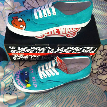 Finding Nemo Custom Vans Order Disney Canvas by SecondStarToDisney