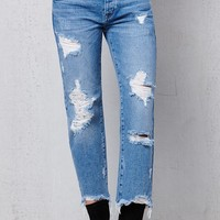PacSun Maker Wash Ripped Boyfriend Jeans at PacSun.com