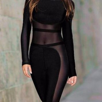 Donna sexy jumpsuit