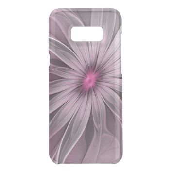 Pink Flower Waiting For A Bee Abstract Fractal Art Get Uncommon Samsung Galaxy S8 Plus Case