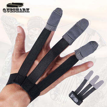 1PC Archery 3 Fingers Guard Protective Glove